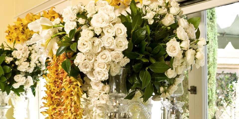 Garden Tour Flower Installation