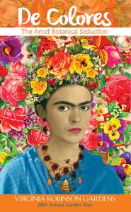 A Passion for Frida Kahlo - Virginia Robinson Gardens 2016 Garden Tour