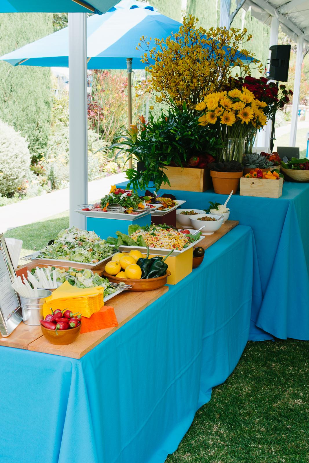 Luncheon display