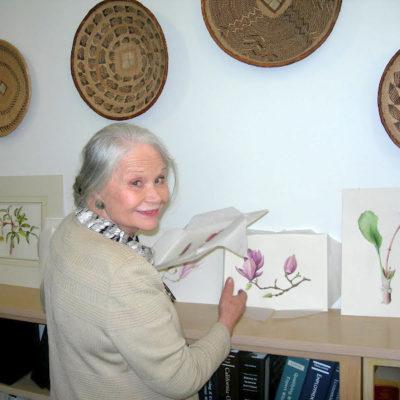 Anne-Marie Evans Botanical Illustration Class April 2018
