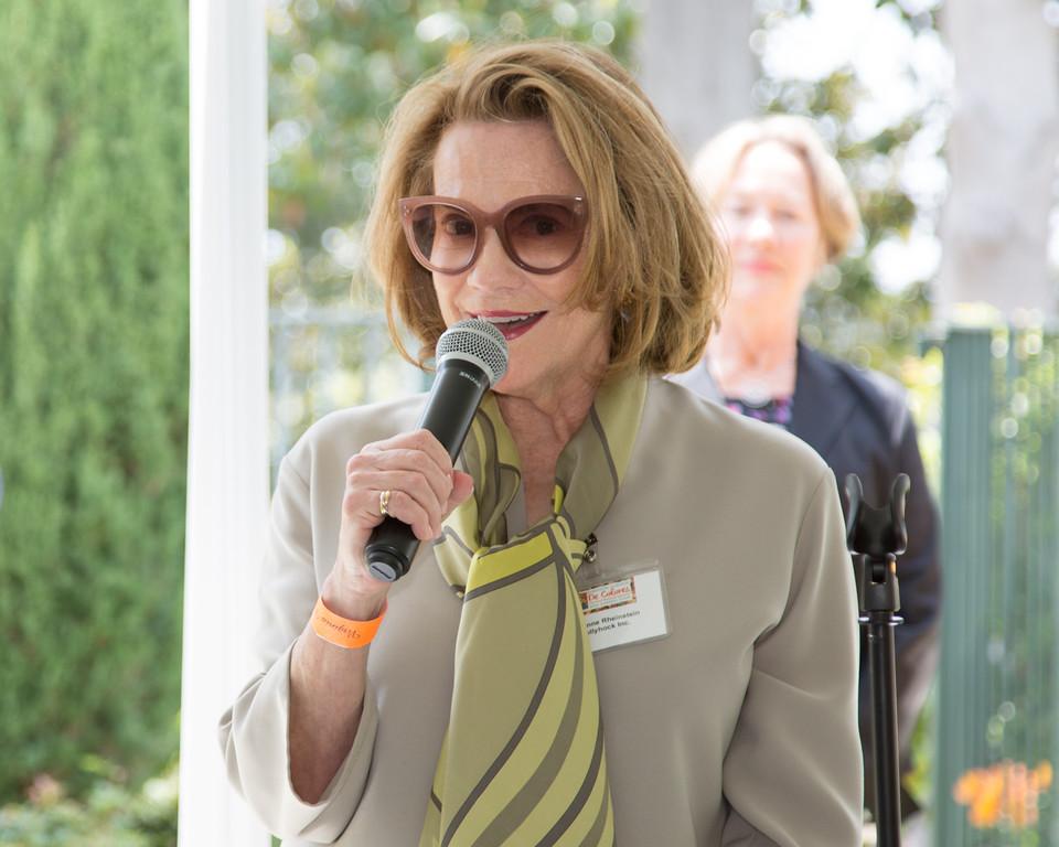 Grand Marshal, Suzanne Rheinstein.