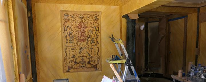 Virginia's Cardroom Restoration Project Update