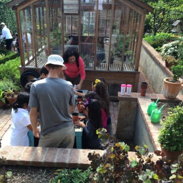 Hands-On Science Education for Children at the Virginia Robinson Gardens
