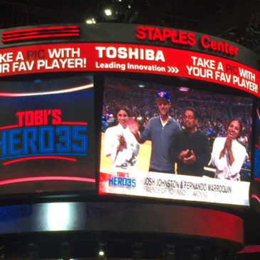 LA Clippers Recognize FRG for Children's Education Program