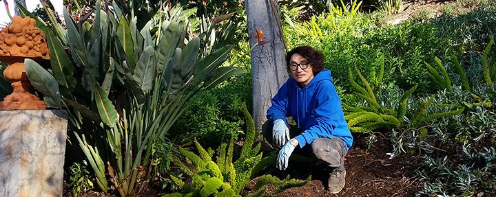 Andrey Yun: Student Horticultural Internship Recipient