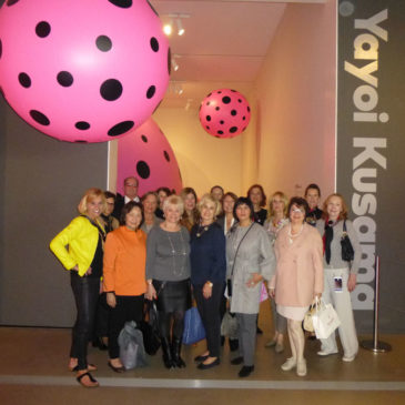 The Fellows Visit Kusama Exhibit at The Broad