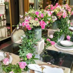LOGGIA TableArt www.tableartonline.com  323-653-8278 AND Floral Rush  www.floralrush.com 323-876-8358