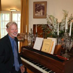 YELLOW SALON Dale Witt on Piano  jdw_cedrus@yahoo.com AND FlowerSchool Los Angeles www.flowerschoolla.com 626-344-9310