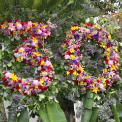 30TH FLORAL DISPLAY