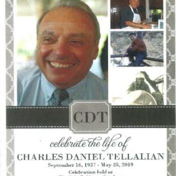Memorial for Beloved Docent Chuck Tellalian