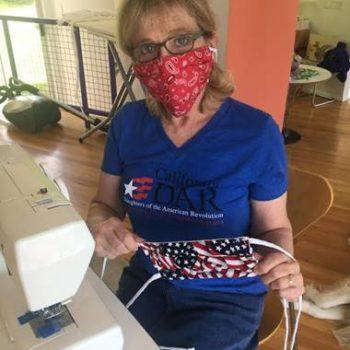 FRG Member Susan Rosenthal Sews Masks for the VA!